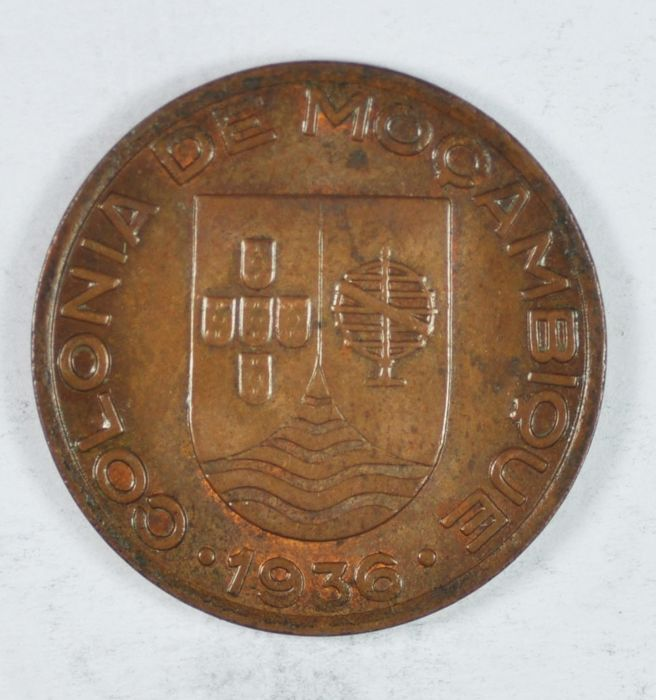 Mozambique - Portugal Republic - 20 Centavos - 1926 - Copper