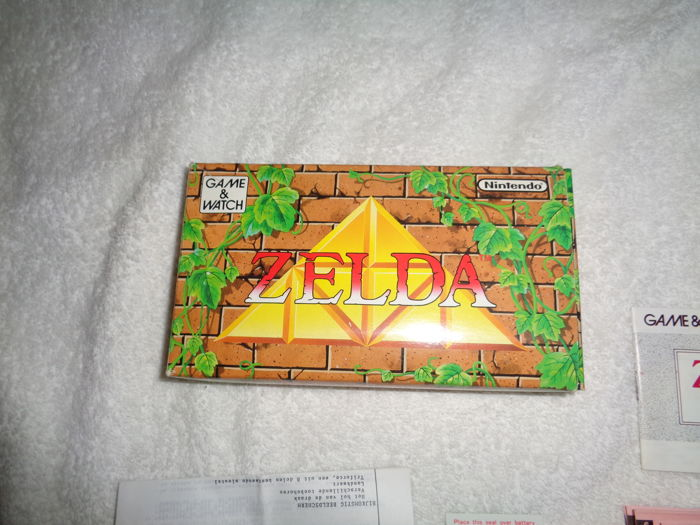Game & Watch - Zelda - Boxed