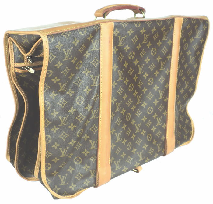 Louis Vuitton - Monogram Portable Homme Garment Carrier Suit-Case - Vintage f11c1b41e46a8
