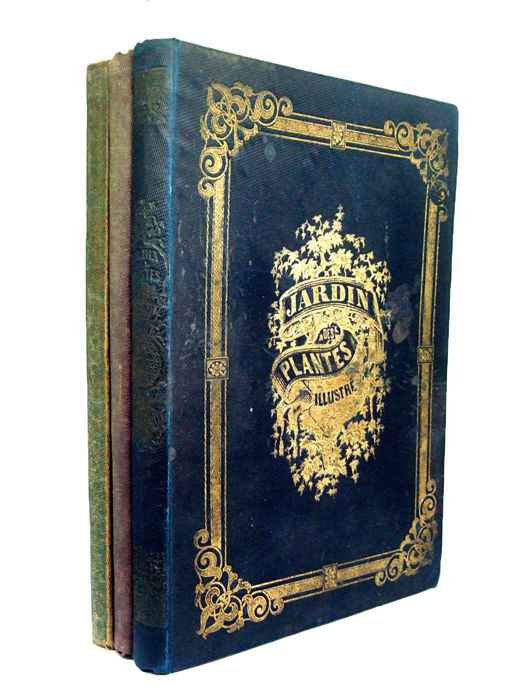 Book bindings; Lot with 3 illustrated books with romantic bindings - ca. 1850/1852