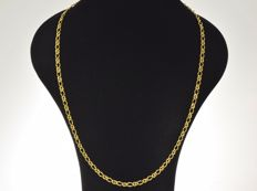 Gold, 18 kt. Necklace. Length: 64 cm Weight 16.8 g ···No reserve price···