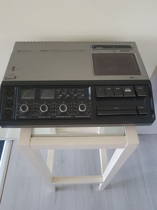 Vintage Philips N2511 High tape deck stereo cassette player / recorder from 1976