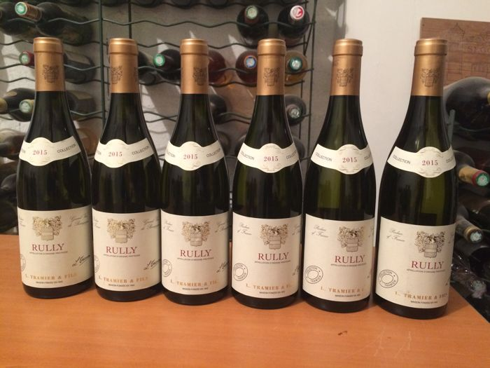 2015 Rully AOC (white Burgundy) from Maison L. Tramier & Fils x 6 bottles