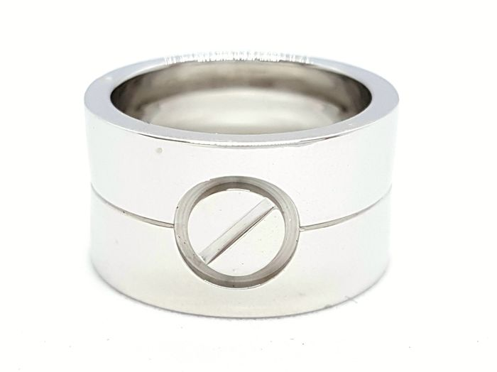 Cartier - Ring - Love - Large model - 18 kt White Gold - Size 47