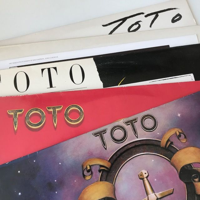 Toto - lot of 5 classic LPs including Isolation (plus press release)
