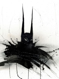 Batman by ANTISTATIK - Original Painting