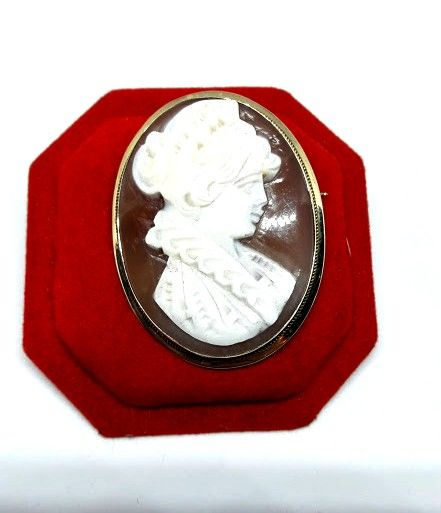 Women's cameo brooch