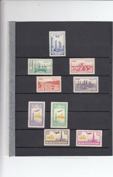 World - from Classic to Modern, the Netherlands, Germany, France, Iraq, Iran, on stock cards and album pages