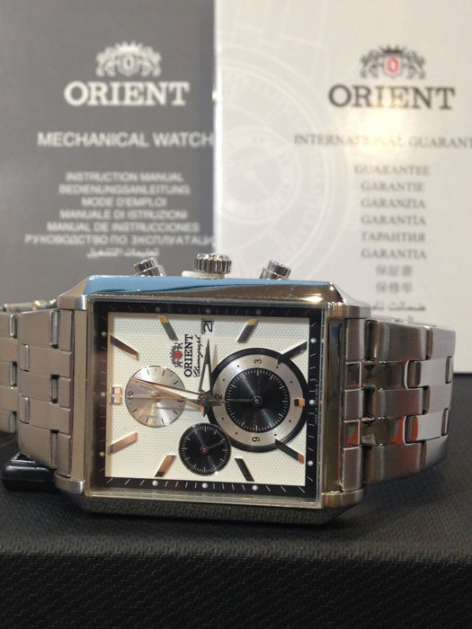 Orient Watch Co. - chronograph - sttae001w0 - Men - 2011-present
