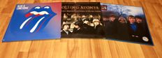 The Rolling Stones - Lot of 3 lp`s; Blue And Lonesome+British Broadcasting Collection On Clear Vinyl+Between The Buttons