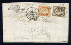 France 1852/1901 - Lot of 20 Classic Letters