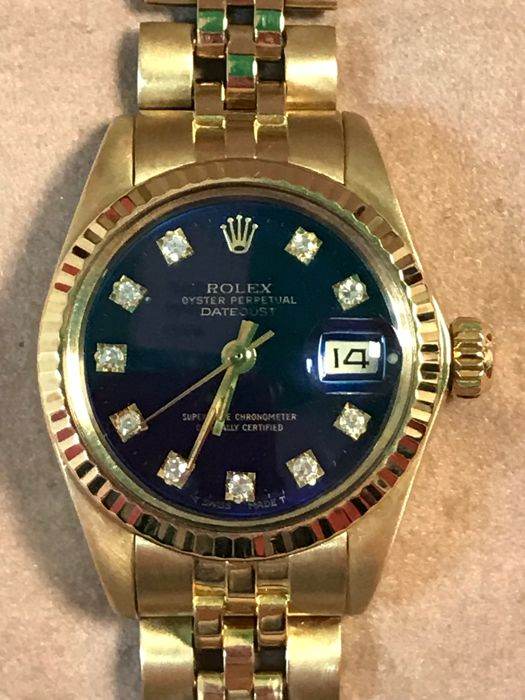 Rolex -  Oyster Perpetual Datejust - 6917 - Damer - 1980-1989