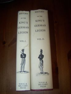 N. Ludlow Beamish F.R.S. - History of the King's German Legion  - 1997