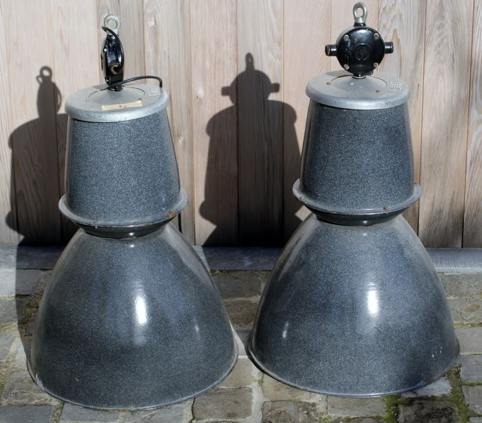 Vintage industrial lamps or factory lamps for sale