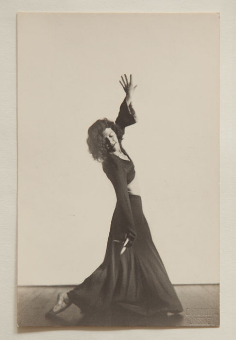 Charlotte Rudolph (1896-1983) - Photo postcard, Tanzstudie - Gret Palucca, Mary Wigman...