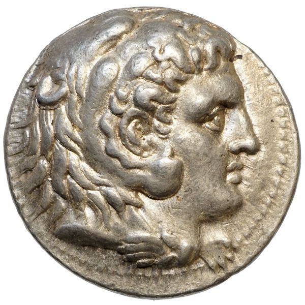 Ancient Greece - Alexander III the Great (~336-323 BC) AR Tetradrachm, BABYLON