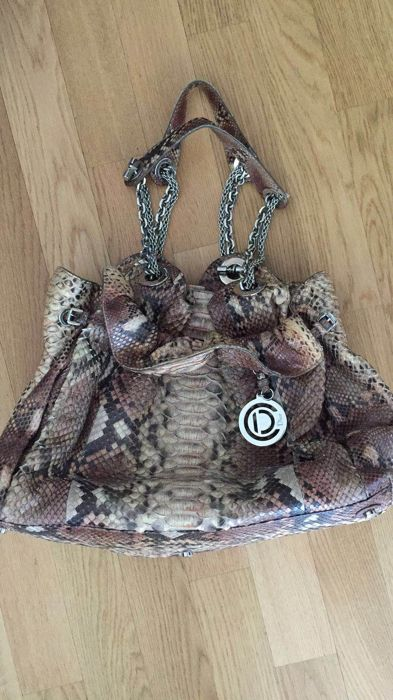 30 Python and crocodile Dior bag