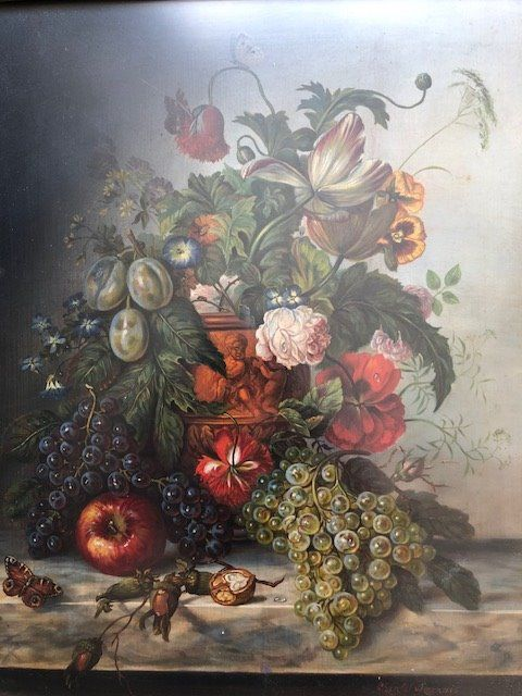 Chantal Chesnais (1952) - Bloemen  en fruit