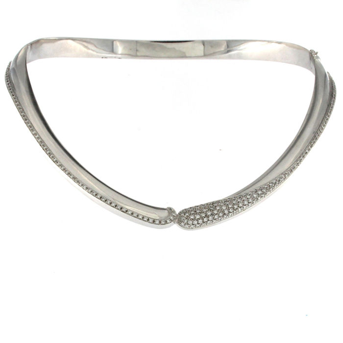 Other - 18 quilates Oro - Collar Diamante