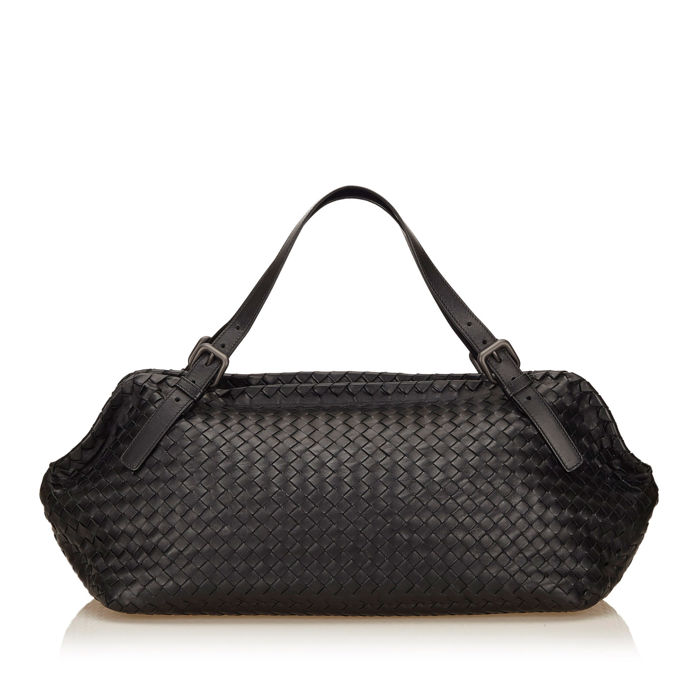 Bottega Veneta - Intrecciato Leather Duffel Bag
