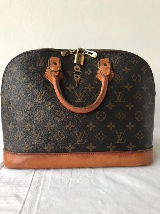 Louis Vuitton - Alma PM monogram Τσάντα - Βίντατζ