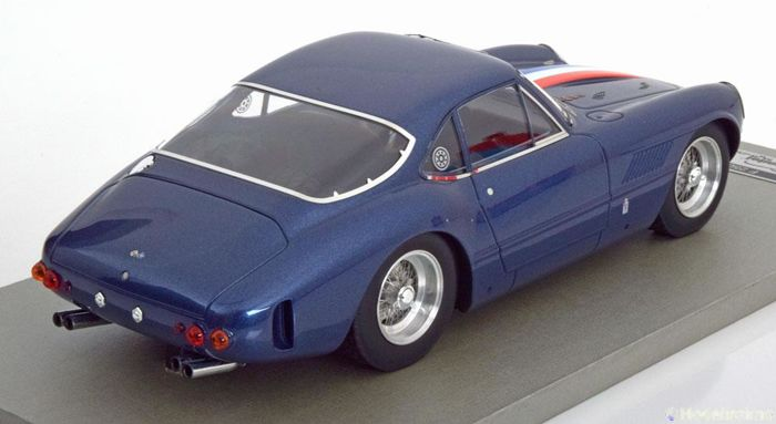 Tecnomodel Mythos series - Scale 1/18 - Ferrari 250 GT Sperimentale Tour de France 1961 - Pininfarina - colour Blue-metallic -
