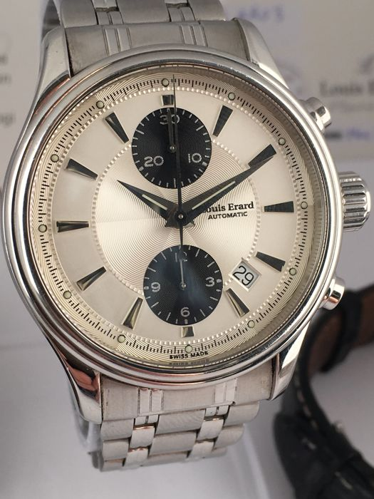 Louis Erard - Automatic Chronograph - Date  - 259 - Heren - 2000-2010