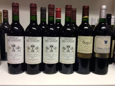 1995 Chateau des Gondats, Bordeaux Superieur x 4 bottles - 1995 Chateau Cros La Graviere, Graves x 1 bottle - 1996 Chateau Bois Martin, Pessac-Leognan x 1 bottle - 1996 Chateau Lamouroux, Graves x 1 bottle - 1997 Chateau Le Grand Treuil, Saint-Emilion Grand Cru x 1 bottle - 2005 Chateau La Chapelle Despagnet, Saint-Emilion Grand Cru x 1 bottle / 9 bottles 0,75l