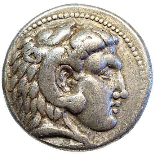 Ancient Greece - Alexander III the Great (~336-323) AR tetradrachm