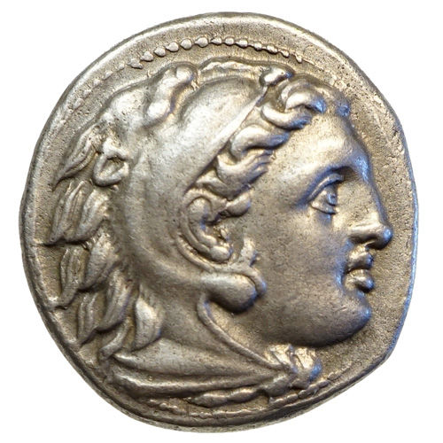 ALEXANDER III the Great (336-323) AR drachma, Magnesia, BEE