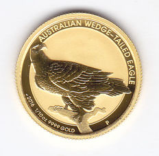 Australia – 15 Dollars 2016 'Australian wedge-tailed eagle' – 1/10 oz gold