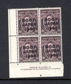 British Commonwealth - Occupation Force 1946, Marginal Block 4