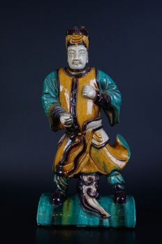 Very fine Chinese terracotta Warrior - 420 mm
