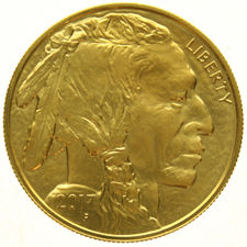 United States - 50 Dollars 2017 Buffalo - 1 oz - Gold