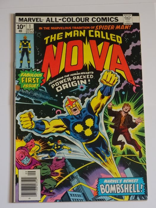 Nova #1 - Marvel Comics - (1976)