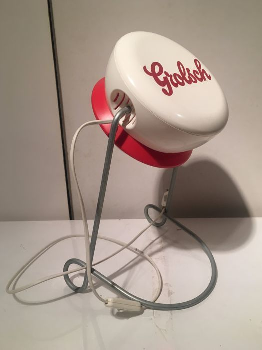 Grolsch Vintage Design Cap / Bracket Lamp * * PLOP * * Collector's Item!