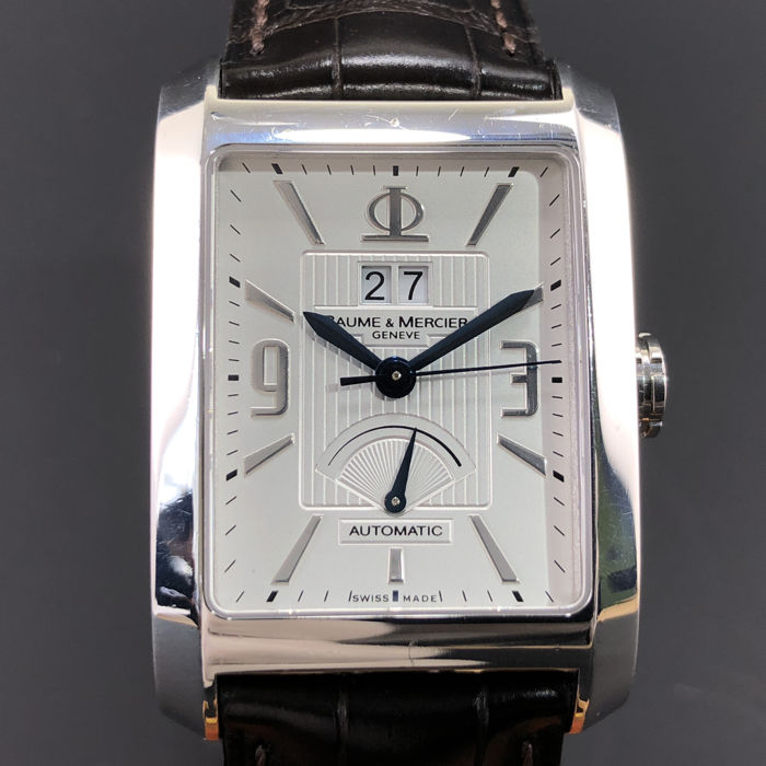 Baume & Mercier - Hampton Big Date Power Reserve - Ref. 65649 - Homme - 2000-2010