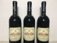 1996 x 1 + 2000 x 2 Castello dei Rampolla, Sammarco, Toscana IGT, Tuscany, Italy - 3 bottles (75cl)