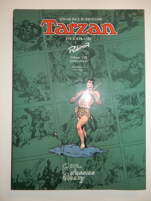 Rubimor - Tarzan in Color Volume 15B - hc in leatherette with dust jacket - 1st edition - (1996)