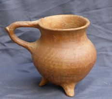 Beautiful pottery bowl with ears - Amlash culture