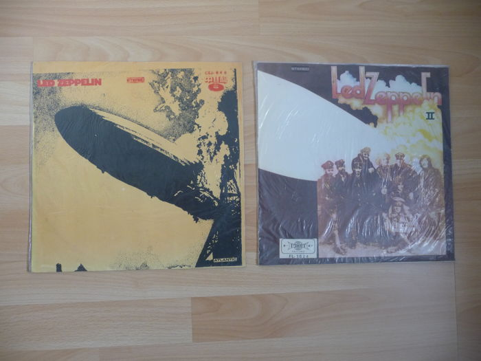 Led Zeppelin - 2 Very Rare LP's - Led Zeppelin I & Led Zeppelin II
