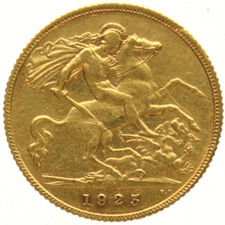 South Africa - ½ Sovereign 1925 George V - gold