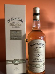 Bowmore 16 Year Old, 1989 Vintage Limited Edition
