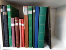 World 1920/1990 - miscellaneous in stock books Middle East