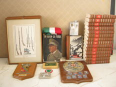 Lot of 29 military memorabilia and documents in good condition