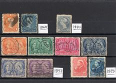 Canada, Newfoundland, USA,  small selection of stamps