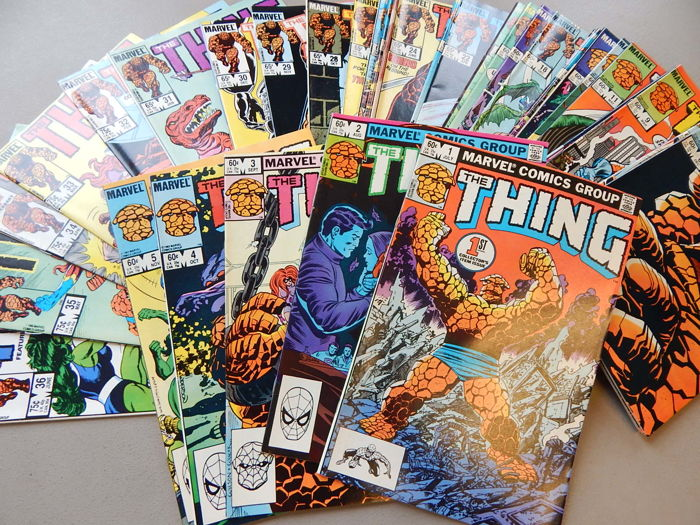 Marvel Comics - The Thing #1 to 36 - 36x sc - (1983-1986)
