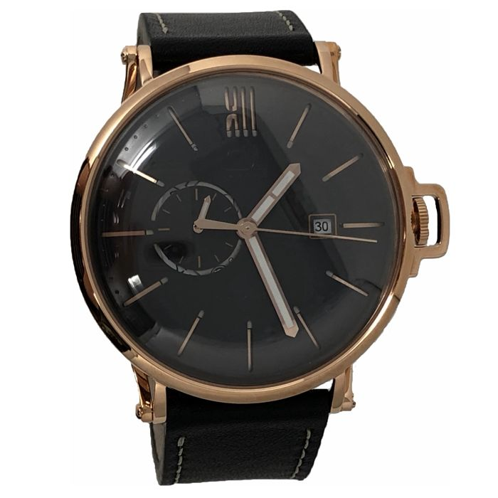 01 The One - Automatic 46mm Black Face Rose Gold Plated - A302L2 - Men - 2011-present