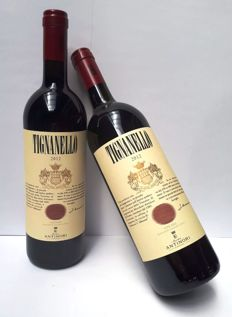 2012 Tignanello Antinori - 2 bottles (75cl)