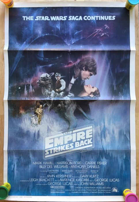 ESB - Star Wars - Vintage Poster - The Empire Strikes Back - 1e druk - 1980